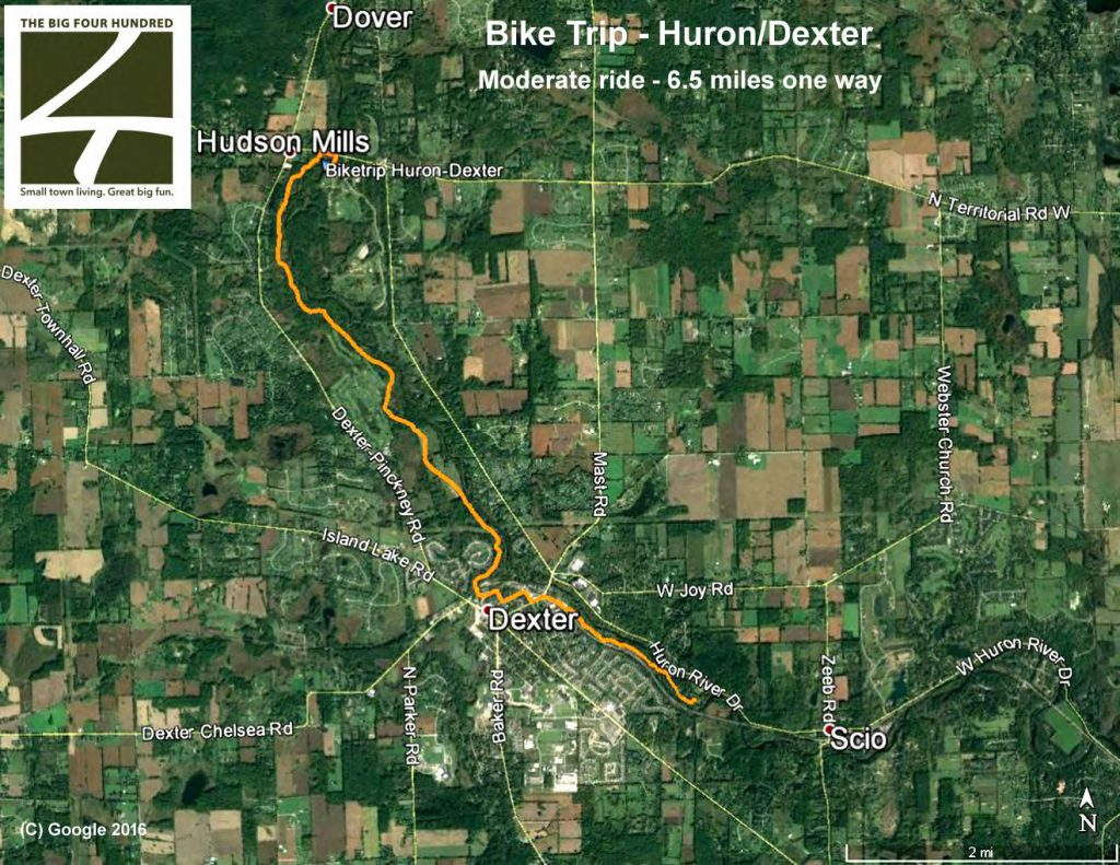 Huron River_Dexter Paddle and Bike Shuttle_Page_1