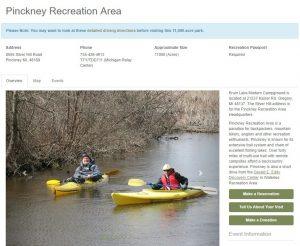 pinckney-recreation-area